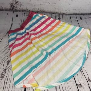 Girls Childrens place rainbow 🌈 high low skirts